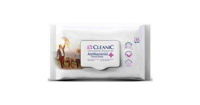 CLEANIC - vlhčené antibakteriálne obrúsky 40ks/bal.
