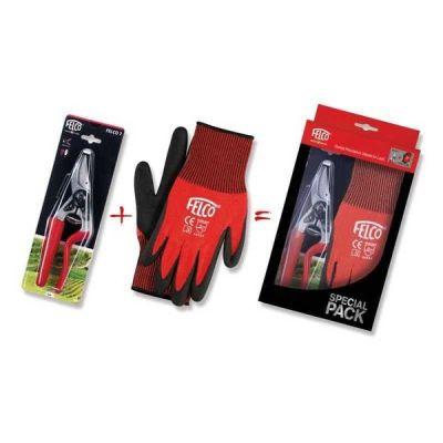 Nožnice a rukavice FELCO 7 + FELCO 701 XL darčekový set