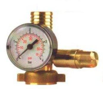 Manometer s ventilom