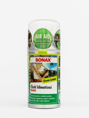 SONAX  Green Lemon Air Aid dezinfekcia klimatizácie 100ml