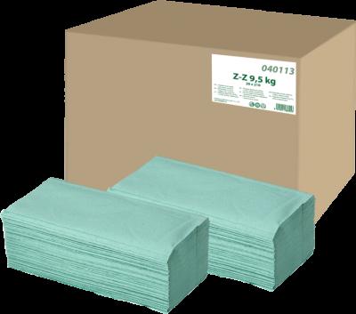 Utierka papierová zelená ZZ 9,5kg