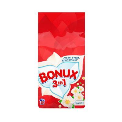 BONUX Color Magnólia 3v1 prací prášok 80 praní 6kg