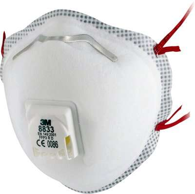 Respirátor 3M™ 8833 FFP3 RD