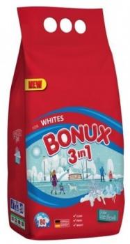 BONUX 3v1 Polar Ice Fresh prací prášok 80 praní 6kg